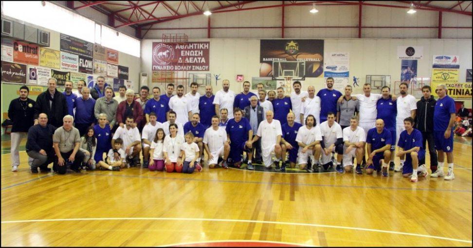 Κορυφαίοι Έλληνες μπασκετμπολίστες στη Σίνδο για το Σύλλογο «Οι Φίλοι του Πέτρου»!